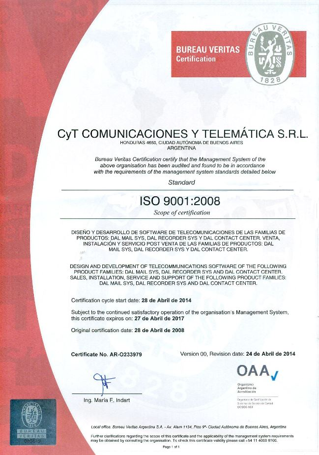 Certificado ISO 9001 Abril2016 escaneado 2